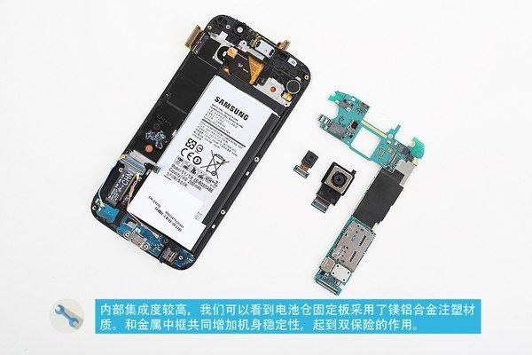 ماژول دوربین گلکسی S6 به همراه مادربرد آن