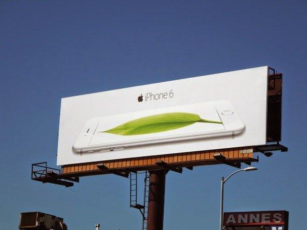 iphone 6 leaf billboard