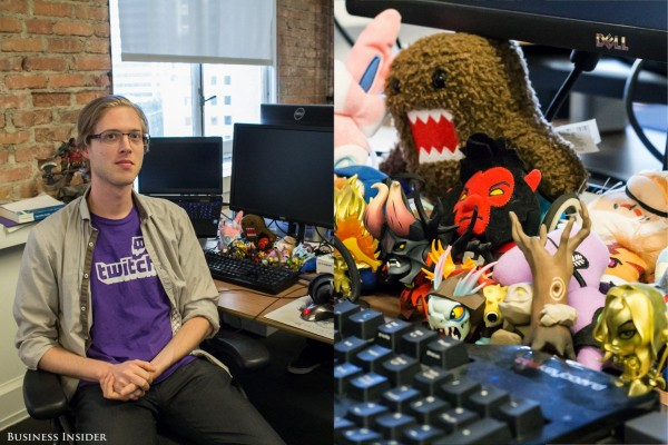 some-of-the-most-impressive-collectibles-in-the-office-can-be-found-on-employees-desks-jos-kraaijeveld-a-software-engineer-owns-two-gold-painted-demihero-figurines-from-the-video-game-dota-2-kraaijeveld-hosts-workshops-on-ho