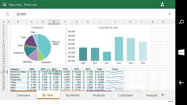 Excel-on-Windows-10-smartphones