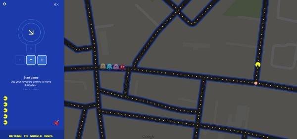 GoogleMapsPacMan