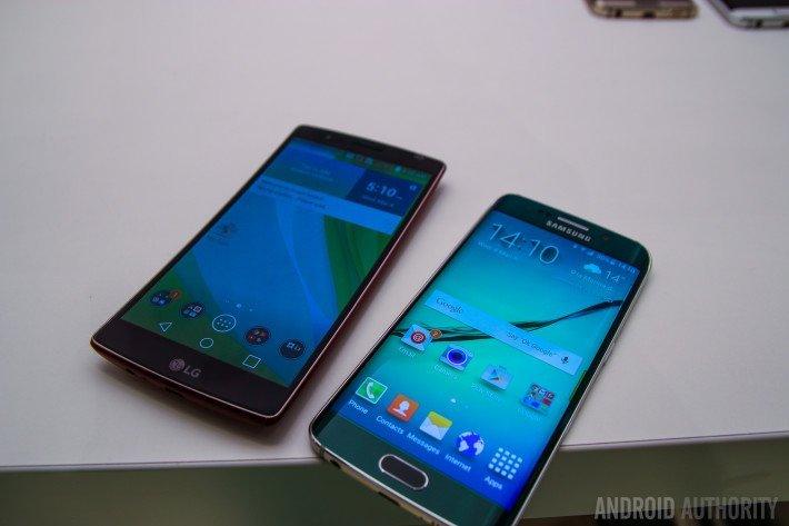 Samsung-Galaxy-S6-Edge-VS-LG-GFlex-2-3-710x473