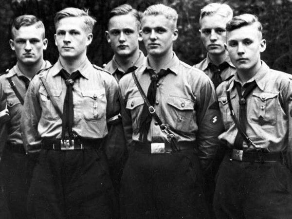 hugo-boss-was-a-member-of-the-nazi-party-and-in-1928-became-an-official-supplier-of-uniforms-organizations-within-the-national-socialist-party-including-the-hitler-youth-sturmabteilung-paramilitary-and-the-ss