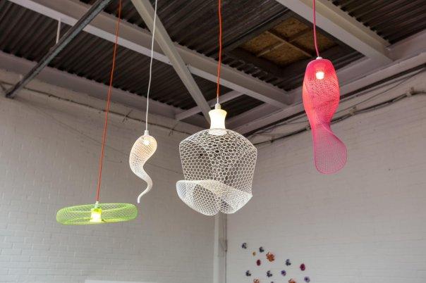 این لامپ های زیبا توسط شرکتی به نام  52Shapes ساخته شده اند.
