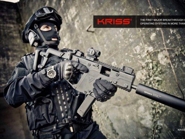 کریس وکتور نام یک تفنگ دستی است که به خاطر طراحی خاصش، از حرکت لوله آن تا 95 درصد کاسته شده و جهش آن به سمت عقب هم که پس از شلیک رخ می دهد تا 60 درصد پایین آمده.
