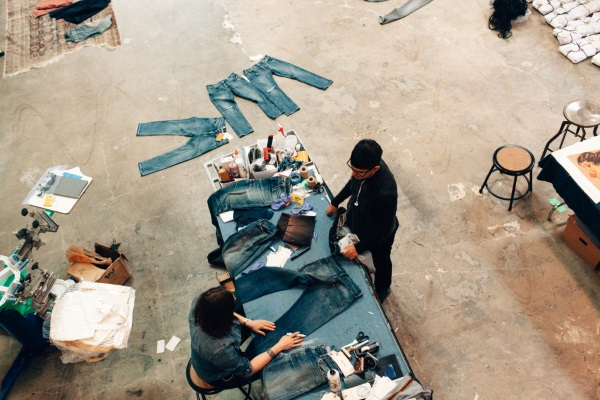 Levi's protoype factory