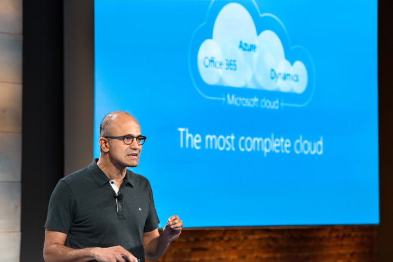 Microsoft-Satya-Nadella-cloud-780x520