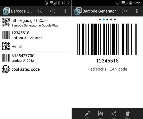 Barcode Generator 2
