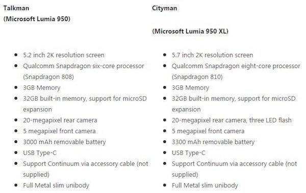 Lumia-950-XL-rumored-specs