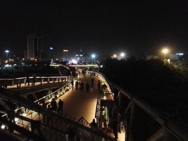 موبایل ۵: عکاسی در شب