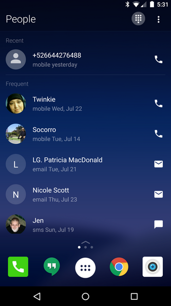 Swipe-left-for-recent-and-frequent-contacts