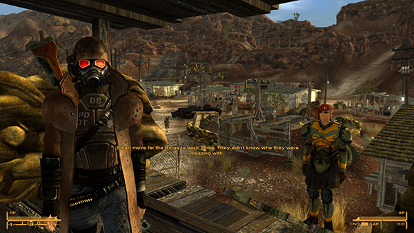 فال اوت: نیو وگاس که به جرئت برترین بازی در میان نسخه های سری فال اوت است.