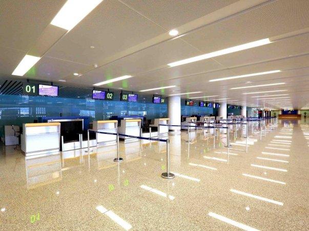 ظاهرا فضای این فرودگاه به اندازه ای که امکان افزایش ظرفیت آن در آینده نه چندان دور فراهم باشد، وسعت دارد.