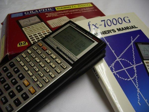Casio_fx-7000G_Box&Manual