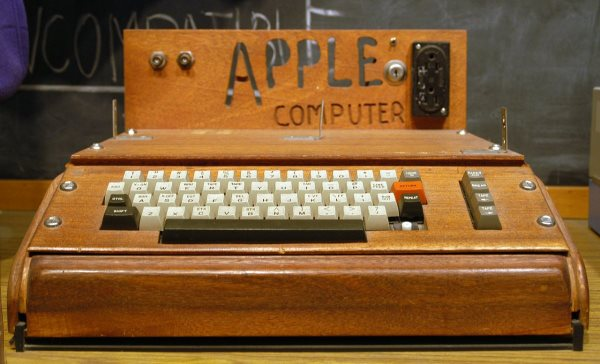 the-companys-first-product-was-the-apple-i-which-was-just-a-motherboard-with-a-processor-and-some-memory-intended-for-hobbyists-customers-had-to-build-their-own-case-and-add-their-own-keyboard-and-monitor-as-seen-in-the-pict