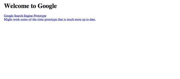 آنها در سپتامبر سال 1997 میلادی دامنه Google.com را با هدف سازماندهی به اطلاعات جهانی به ثبت رساندند.