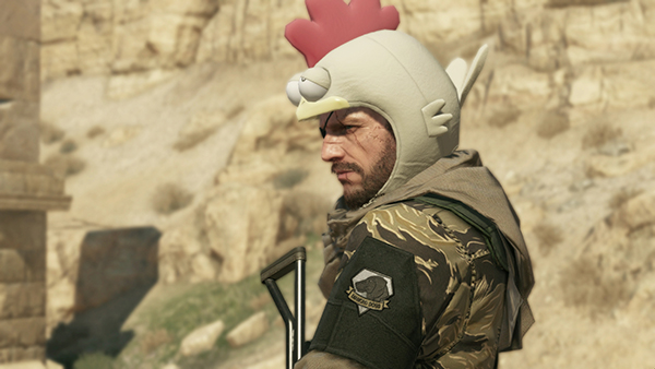 MGSV 7 Chicken Hat