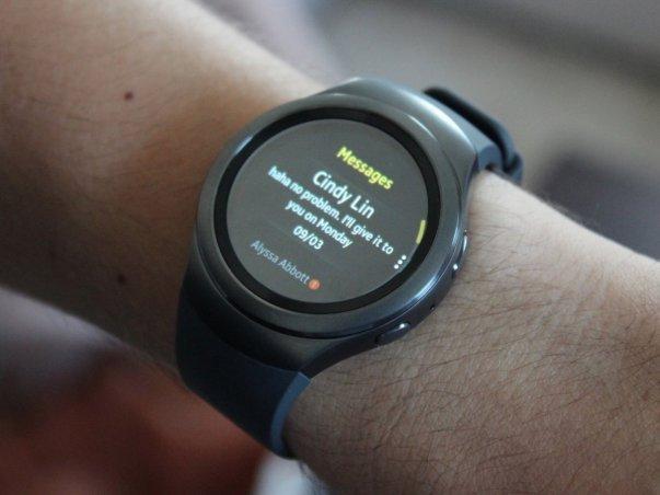 همانطور که گفته شد با این ساعت می توانید اعلان پیام های متنیخود را نیز دریافت نمایید.