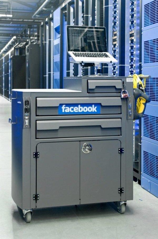 تکنیسین های فیسبوک همچنین قادرند محدوده ای از پایگاه داده ای که مسئولیتیش را بر عهده دارند با استفاده از سیستم های تشخیص پرتابل خود تحت نظر بگیرند.