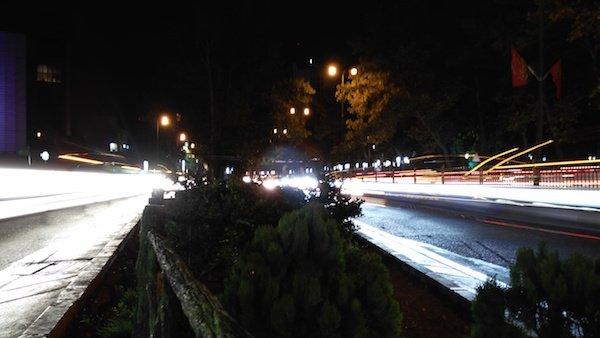 حالت City traffic در بخش Artistic Nightscape