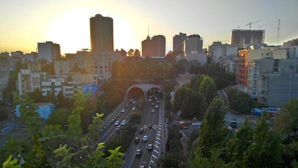 حالت Artistic HDR مخصوص منظره شهری
