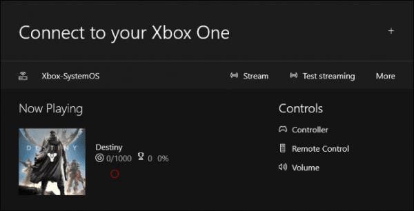 پس از اینکه اتصال برقرار شد، چندین گزینه مختلف در برابر شما ظاهر می شود که به جز گزینه Stream، به باقی کاری نداریم.