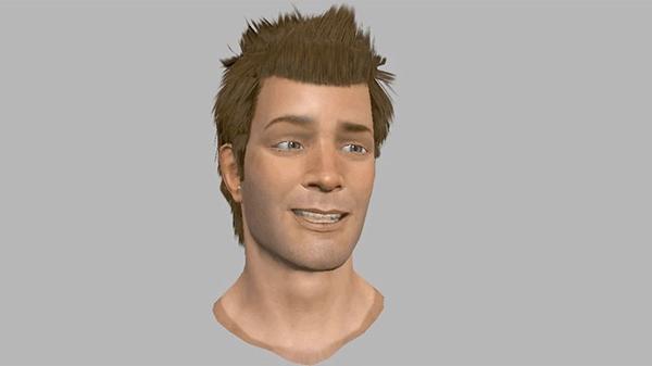 تصویری از وؤزن ابتدایی چهره ی ناتان دریک. باید خدا را شکر کرد که سازندگان چهره ی ناتان را تغییر دادند!