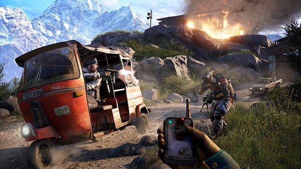 در بازی FarCry 4، گیمر می تواند به روش های مختلف به پایگاه های دشمنان هجوم ببرد