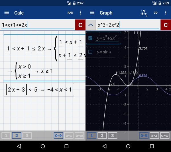 Graphing Calculator Mathlab Pro 1