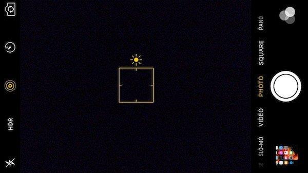 رابط کاربری دوربین آیفون 6S