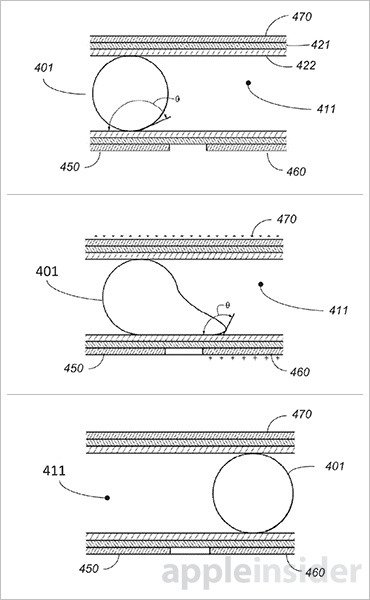 apple patent water