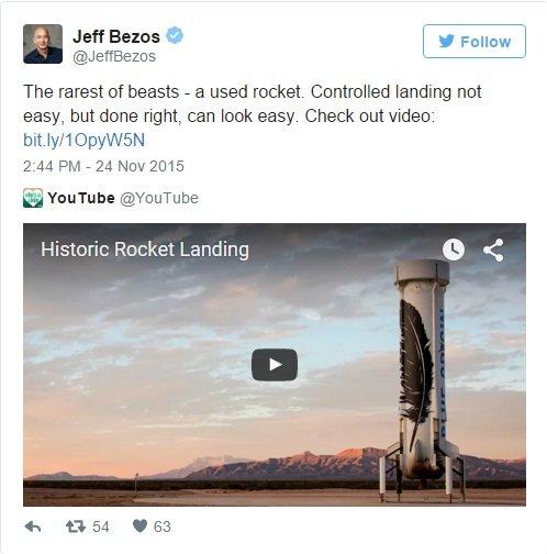 عجیب ترین چیزی که ممکن است دیده باشید: یک راکت مصرف شده. فرود کنترل شده کار آسانی نیست اما به درستی انجام شده و از این پس ساده به نظر می آید. ویدئوی زیر را ببینید.