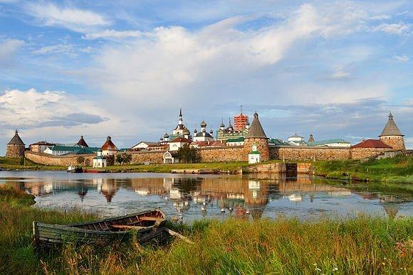 مقام هشتم:صومعه Solovetsky، شمال روسیه