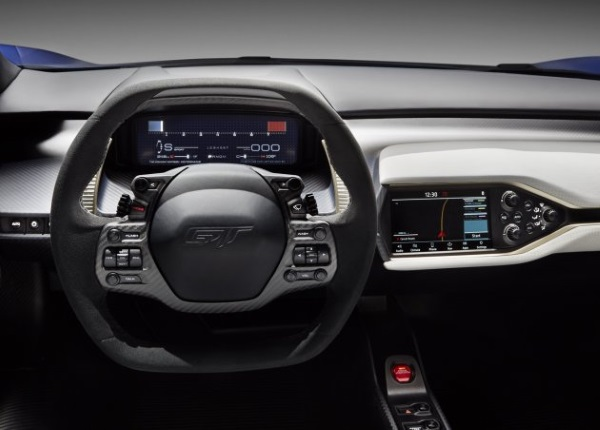 Ford+GT+interface