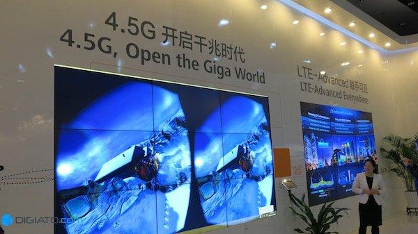تا زمان آماده شدن 5G، هوآوی تکنولوژی 4.5G را گسترش داده است. این شبکه را می توان پلی بین 4G و 5G دانست. سرعت بیشتر و زمان کمتر برای پاسخگویی از جمله ویژگی های این تکنولوژی به شمار می رود.