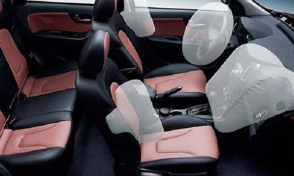 جانمایی چهار کیسه هوا در خودرو هایما s7 که در این حادثه عمل نکرده اند