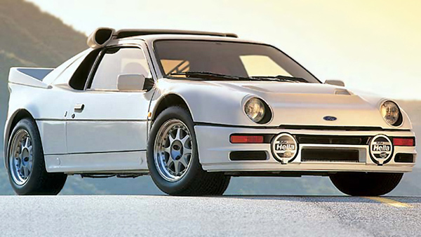 1986 Ford RS200 Evolution top car rating and specifications