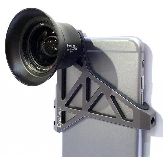 با لنز سیصد دلاری زایس و ExoLens بهترین عکس ها را با آیفون بگیرید