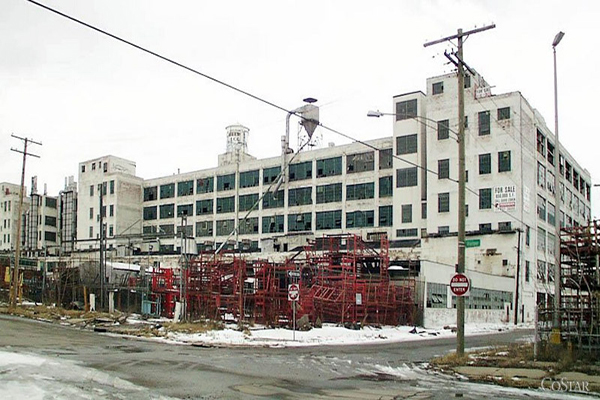 The plant, a few years after it closed.