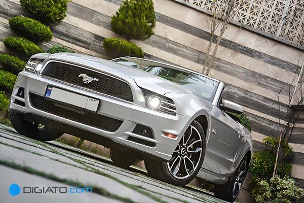 بررسی دیجیاتو: فورد ماستنگ GT 2014 در تهران