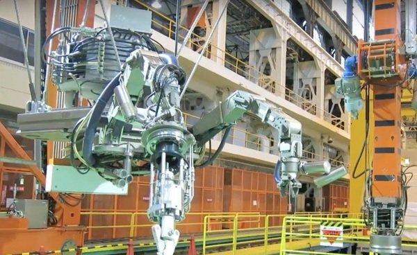 توشیبا رباتی برای تمیز کردن واحد 3 نیروگاه هسته ای فوکوشیما ساخته است