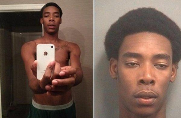 ماجرای این عکس از این قرار است که پلیس سلفی مردی که در داخل یک آیفون سرقتی وجود داشت را روی شبکه های اجتماعی منتشر کرد و از مردم خواست که او را شناسایی کنند. در ادامه مشخص شد که آن مرد جس اوالد 19 ساله است که بعدا به عنوان یکی از مظنونین یک سرقت دستگیر شد.
