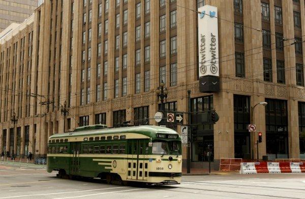 دفتر مرکزی توییتر در شهر سان فرانسیسکو