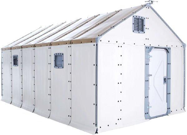پناهگاه های ساخت IKEA: یکی از بهترین پناهگاه های ساخته شده در چند سال اخیر که بسیار سریع مونتاژ و قابل استفاده می شوند را کمپانی IKEA عرضه نموده. این خانه ها با هدف کمک به قربانیان حوادث طبیعی طراحی گشته اند اما در هر موقعیتی که به اسکان فوری نیاز باشد، می توان از آنها بهره گرفت. این محصولات که به Better Shelter Housing Units موسوم هستند در سال گذشته میلادی توسط کمیساریای عالی پناهندگان سازمان ملل برای مردم سوریه مورد استفاده قرار گرفت. این خانه ها به پنل های خورشیدی مجهز می گردند و در عرض 4 تا 8 ساعت با ابزار معمولی می توان آنها را ساخت و جالب اینجاست که تا 3 سال دوام خواهند داشت. همچنین این قابلیت را دارند که بتوان آنها را باز نموده و دوباره در جائی دیگر نصب نمود.