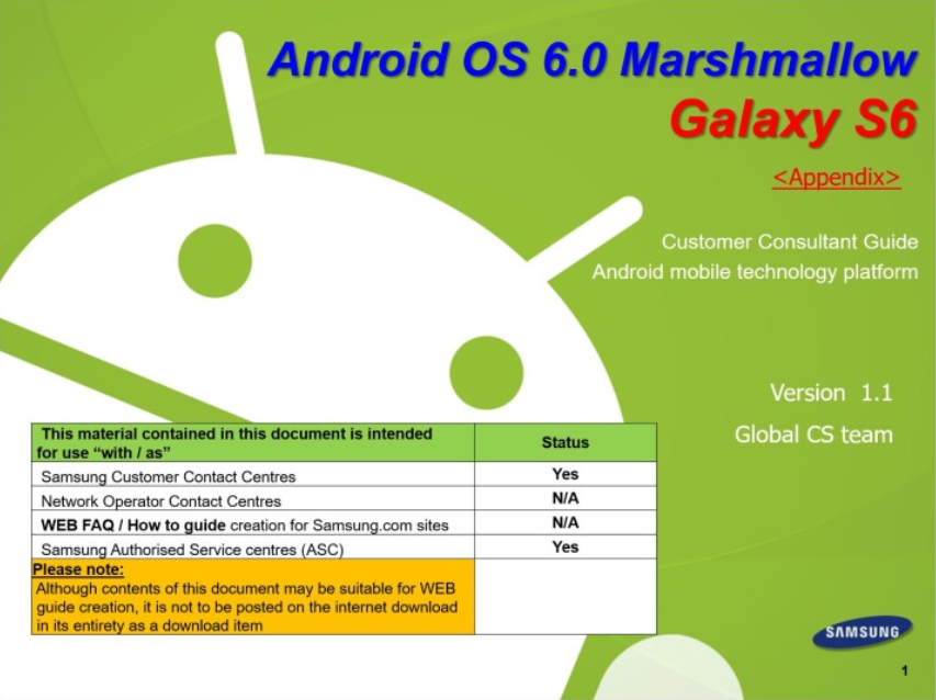 Samsung-Consumer-Consultant-Guide-leaks-for-Android-6.0-on-the-Galaxy-S6-and-Galaxy-S6-edge