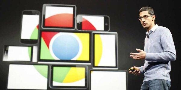 اقدام مایکروسافت موجب شد تا ساندر پیچای بتواند لری پیج و سرگئی برین را متقاعد کند که گوگل باید مرورگر خودش را داشته باشد. نتیجه نظر پیجای، اکنون «کروم» است که آن را به عنوان پرطرفدارترین مرورگر وب می شناسیم.