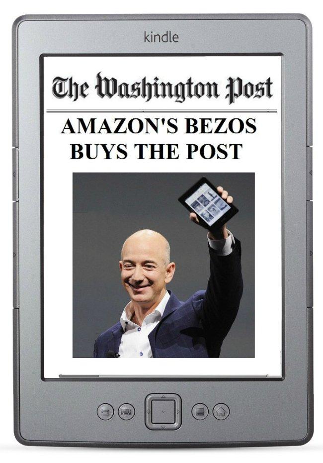 وی همچنین در آگوست سال ۲۰۱۳، با پرداخت مبلغ ۲۵۰ میلیون دلار نشریه «واشنگتن پست» (Washington Post) را به تصاحب خود درآورد.