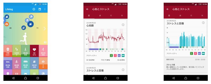 تغییرات جدید در اپلیکیشن Lifelog