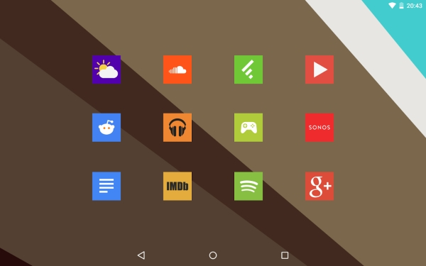 Square Icon Pack 1
