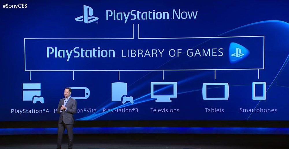 PlayStation Now؛ اولین تلاش سونی برای ورود به حوزه استریم بازی که البته در حال حاضر با ناکامی هایی نیز در جذب مخاطبان همراه بوده.
